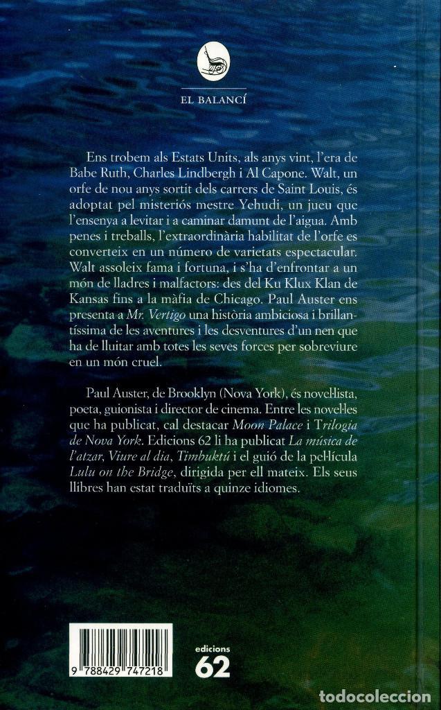 Libros antiguos: MR. VERTIGO - PAUL AUSTER - Foto 2 - 194114476