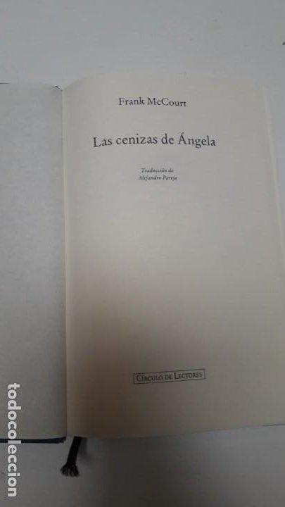 Libros antiguos: las cenizas de angela (regalo el libro ) leer la descripcion - Foto 2 - 194143328