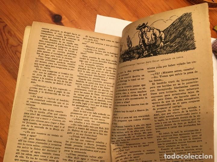 Libros antiguos: novela oeste DANE el terror de los cuatreros,volumen con 3 episodios nº 11-12-13- - Foto 6 - 194179087