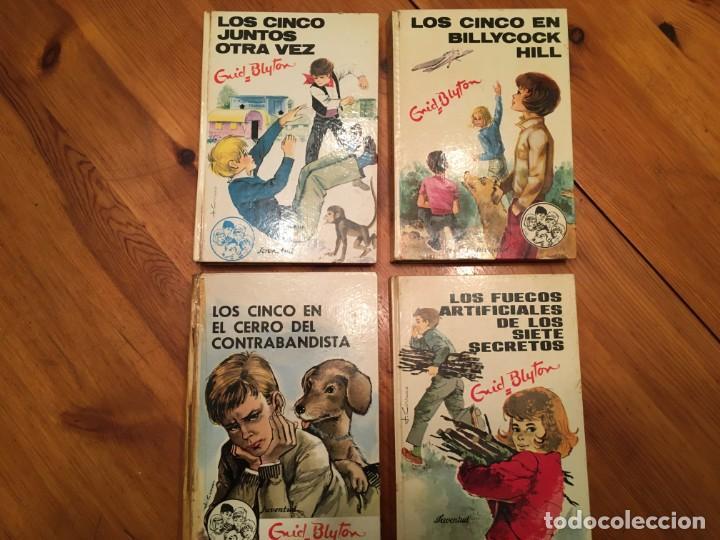 NOVELA LOS CINCO,DE ENID BLYTON AÑOS 1971- 72 -74-LOTE 4 NOVEL. Nº 11-25-39-42 (Libros Antiguos, Raros y Curiosos - Literatura Infantil y Juvenil - Novela)