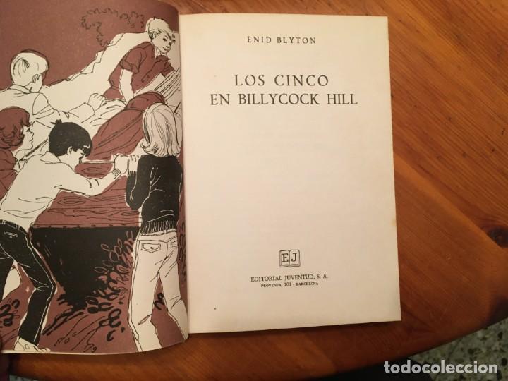 Libros antiguos: novela los cinco,de enid blyton años 1971- 72 -74-lote 4 novel. nº 11-25-39-42 - Foto 3 - 194338358