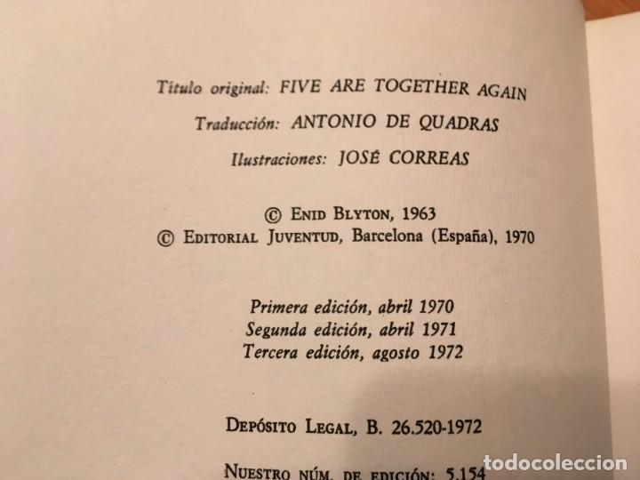 Libros antiguos: novela los cinco,de enid blyton años 1971- 72 -74-lote 4 novel. nº 11-25-39-42 - Foto 4 - 194338358
