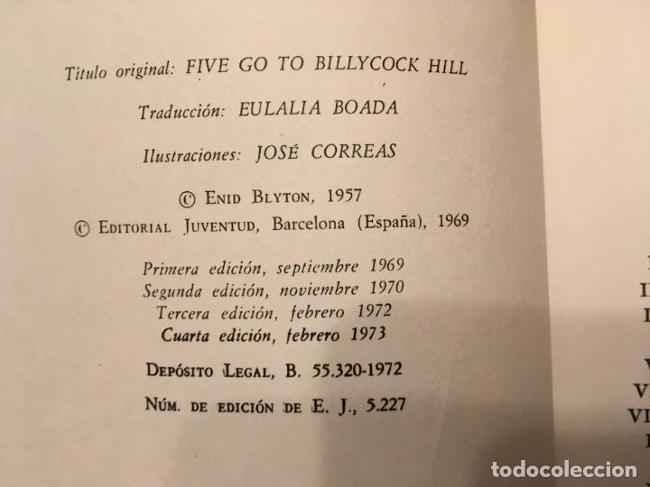 Libros antiguos: novela los cinco,de enid blyton años 1971- 72 -74-lote 4 novel. nº 11-25-39-42 - Foto 5 - 194338358