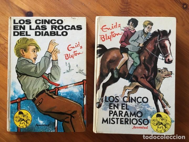 NOVELA LOS CINCO , AÑOS 1972 Y 1974-LOTE 2 NOVELAS Nº 34-43 (Libros Antiguos, Raros y Curiosos - Literatura Infantil y Juvenil - Novela)