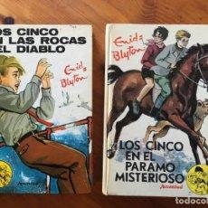 Libros antiguos: NOVELA LOS CINCO , AÑOS 1972 Y 1974-LOTE 2 NOVELAS Nº 34-43. Lote 194382176