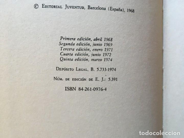 Libros antiguos: novela los cinco , años 1972 y 1974-lote 2 novelas nº 34-43 - Foto 3 - 194382176