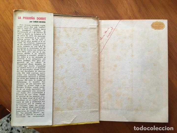 Libros antiguos: novela coleccion historias ,sissi, jov.años una reina,la peque,dorrit,lote 3 novel,año 60- 61- 66- - Foto 2 - 194403435