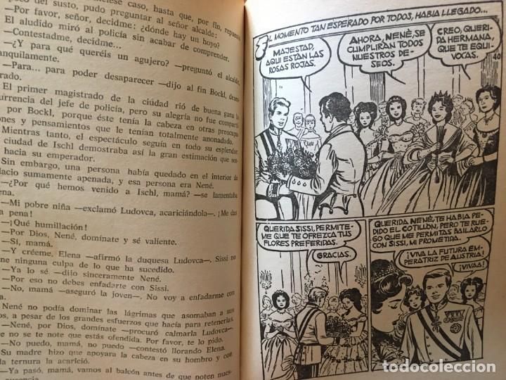 Libros antiguos: novela coleccion historias ,sissi, jov.años una reina,la peque,dorrit,lote 3 novel,año 60- 61- 66- - Foto 8 - 194403435