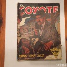 Libros antiguos: NOVELA EL COYOTE Nº 27 DEL OESTE POR J, MALLORQUI. Lote 194626916