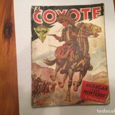 Libros antiguos: NOVELA EL COYOTE Nº 2 DEL OESTE 1ª EDICION . Lote 194629528