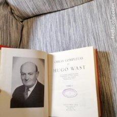 Libros antiguos: OBRAS COMPLETAS DE HUGO WAST. Lote 194633435