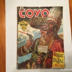 Libros antiguos: NOVELA EL COYOTE Nº 66 DEL OESTE, 1ª EDICION AÑO 1948 . Lote 194742282