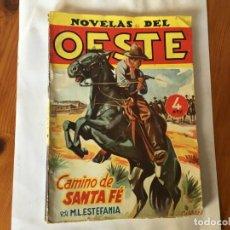Libros antiguos: NOVELAS DEL OESTE EDICIONES CLIPER, POR M.L. ESTEFANIA Nº 50. Lote 194860903