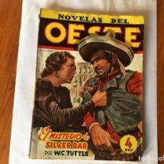 Libros antiguos: NOVELAS DEL OESTE EDICIONES CLIPER POR W. C. TUTTLE Nº 39. Lote 194861051
