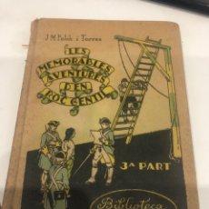 Libros antiguos: LES MEMORABLES AVENTURES D EN ROC GENTIL. Lote 195141980