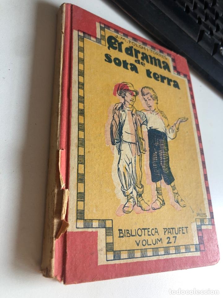 Libros antiguos: El drama de sota Terra - Foto 2 - 195196943