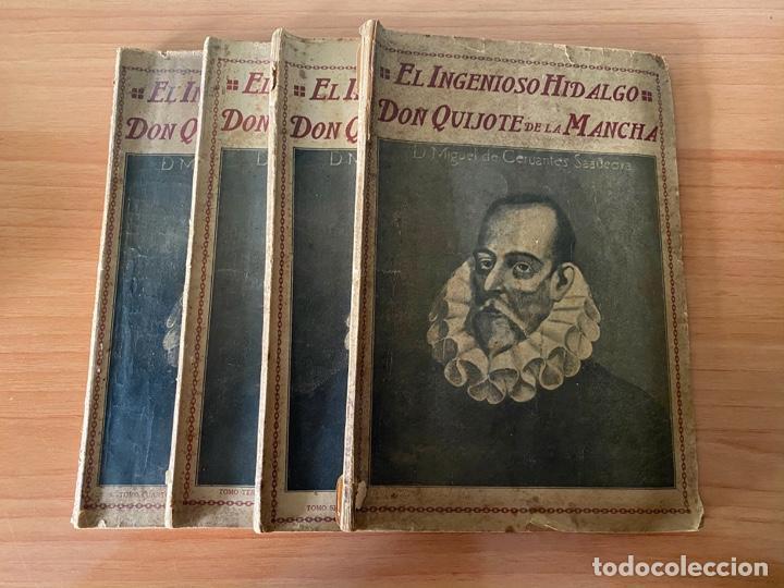 CERVANTES - DON QUIJOTE DE LA MANCHA - 1910 (Libros Antiguos, Raros y Curiosos - Literatura Infantil y Juvenil - Novela)