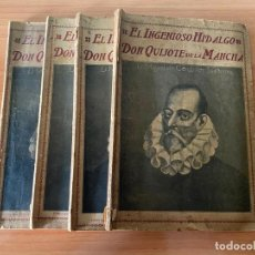 Libros antiguos: CERVANTES - DON QUIJOTE DE LA MANCHA - 1910. Lote 195299881