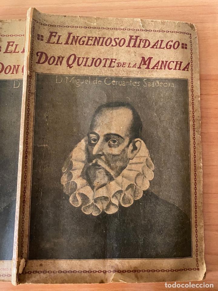 Libros antiguos: Cervantes - Don Quijote de la Mancha - 1910 - Foto 2 - 195299881