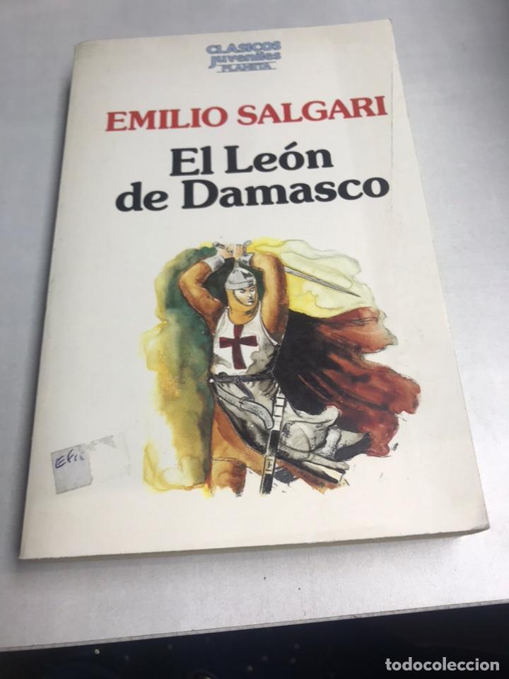 LIBRO - EL LEON DE DAMASCO - EMILIO SALGARI (Libros Antiguos, Raros y Curiosos - Literatura Infantil y Juvenil - Novela)