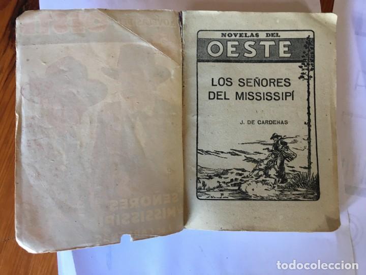 Libros antiguos: novelas del oeste nº 3 - 10 -ediciones cliper - lote 2 novelas, - Foto 4 - 195378913