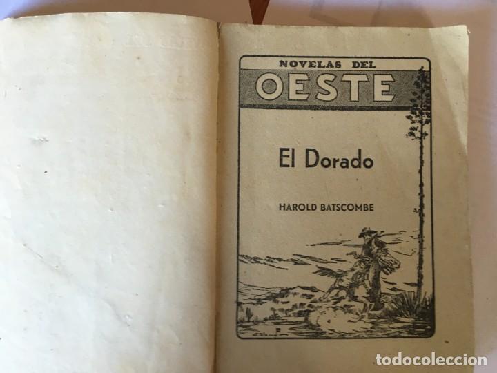 Libros antiguos: novelas del oeste nº 3 - 10 -ediciones cliper - lote 2 novelas, - Foto 6 - 195378913