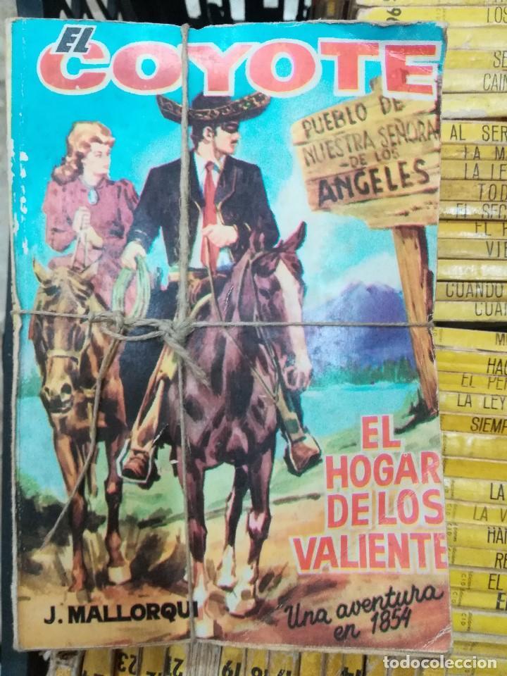 Libros antiguos: Novelas del coyote - Foto 2 - 195421782