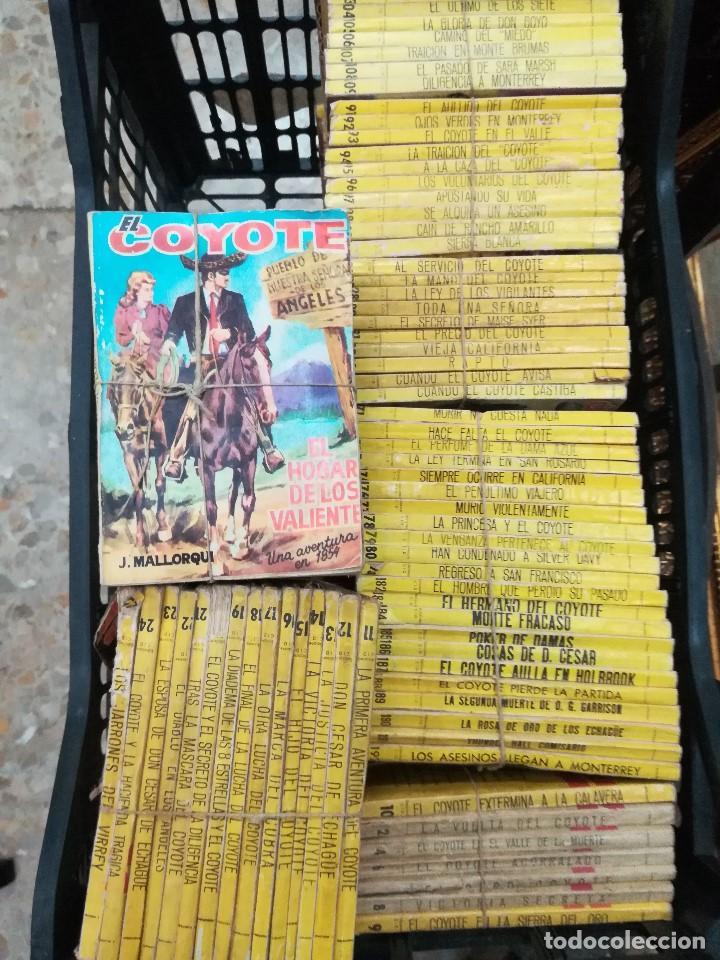 Libros antiguos: Novelas del coyote - Foto 5 - 195421782
