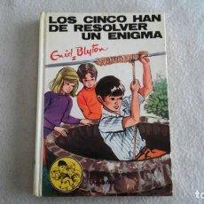 Libros antiguos: LOS 5 HAN DE RESOLVER UN ENIGMA Nº 40 DE ENID BLYTON. Lote 195478162