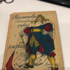 Libros antiguos: ROSANELA O EL SECRET DEL JOGLAR. Lote 195589772
