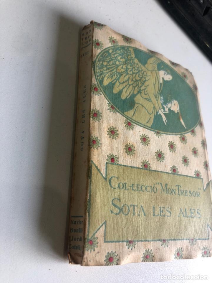 Libros antiguos: Sota les ales - Foto 2 - 195645547