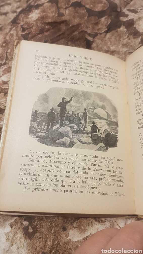 Libros antiguos: Novela HECTOR SERVADAC - Foto 3 - 196311085