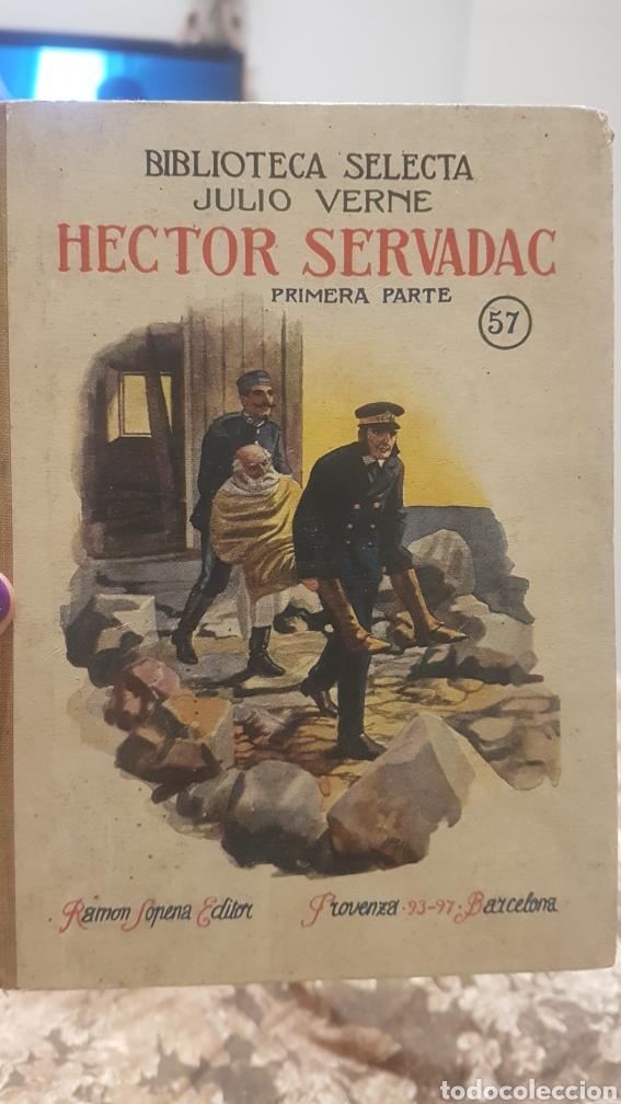NOVELA HECTOR SERVADAC (Libros Antiguos, Raros y Curiosos - Literatura Infantil y Juvenil - Novela)