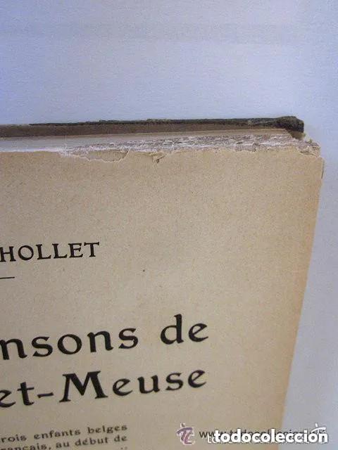 Libros antiguos: LES ROBINSONS DE SAMBRE ET MEUSE 1917 Editions SPES. EDMOND CHOLLET En francés 1ª Edición - Foto 4 - 196730876