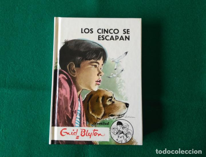 LOS CINCO SE ESCAPAN - Nº 24 - ENID BLYTON - EDITORIAL JUVENTUD S.A. - AÑO 1994 - SIN LEER (Libros Antiguos, Raros y Curiosos - Literatura Infantil y Juvenil - Novela)