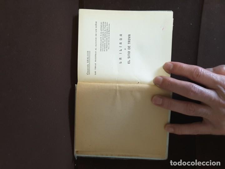 Libros antiguos: COLECCION ARALUCE LITERATURA JUVENIL CLASICA LA ILIADA O EL SITIO DE TROYA - Foto 4 - 198030376