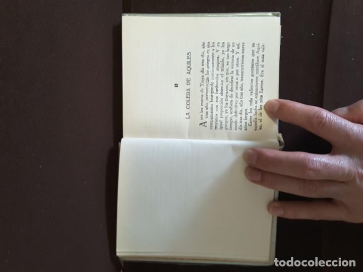 Libros antiguos: COLECCION ARALUCE LITERATURA JUVENIL CLASICA LA ILIADA O EL SITIO DE TROYA - Foto 8 - 198030376