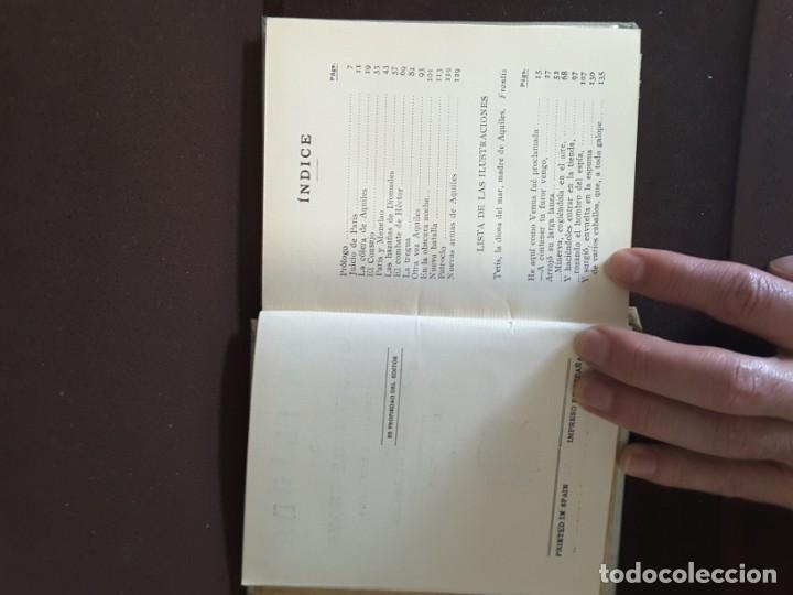 Libros antiguos: COLECCION ARALUCE LITERATURA JUVENIL CLASICA LA ILIADA O EL SITIO DE TROYA - Foto 9 - 198030376