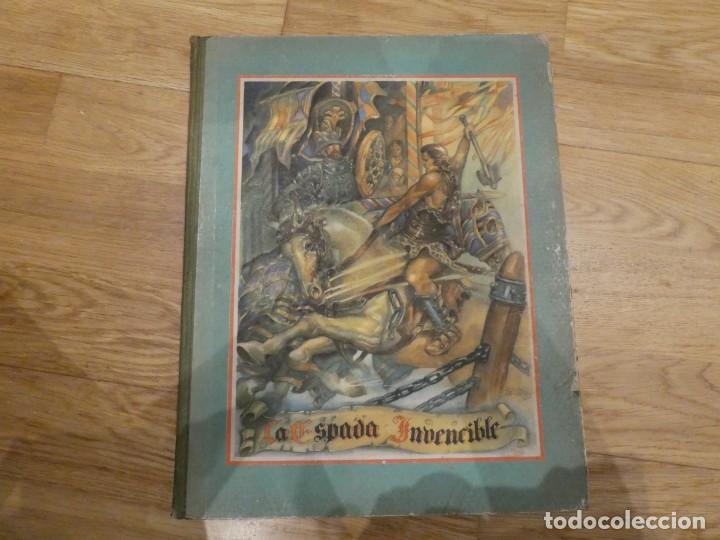 LA ESPADA INVENCIBLE, ALBERTO DE LECEA - 1943 (1A EDICIÓN) (Libros Antiguos, Raros y Curiosos - Literatura Infantil y Juvenil - Novela)