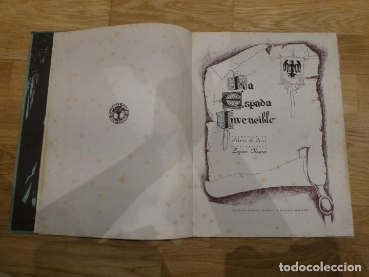 Libros antiguos: LA ESPADA INVENCIBLE, ALBERTO DE LECEA - 1943 (1a EDICIÓN) - Foto 2 - 198327902