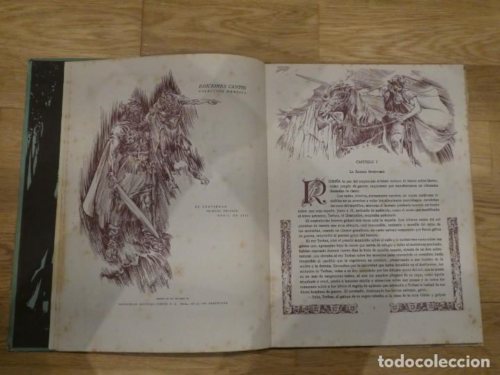 Libros antiguos: LA ESPADA INVENCIBLE, ALBERTO DE LECEA - 1943 (1a EDICIÓN) - Foto 3 - 198327902