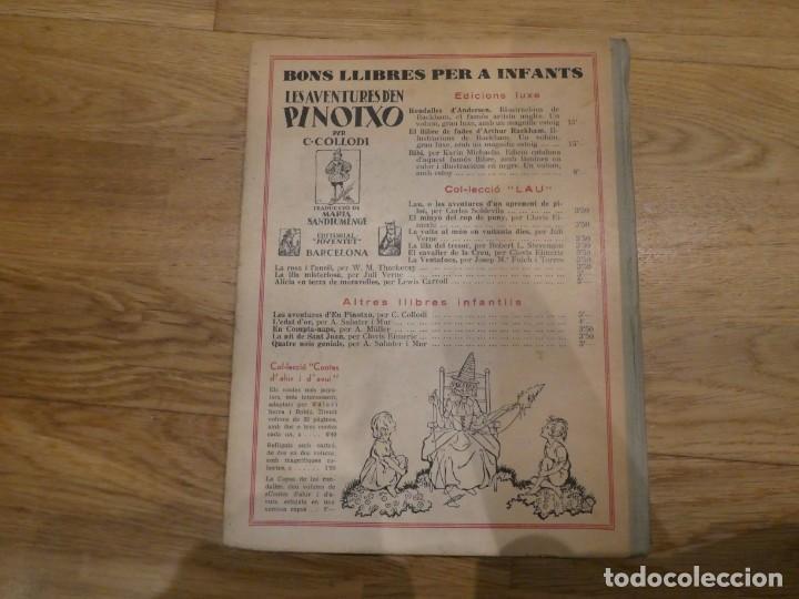 Libros antiguos: LA VOLTA AL MÓN EN 80 DIES, JULES VERNE - 1934 (2a EDICIÓN) - Foto 2 - 198331093