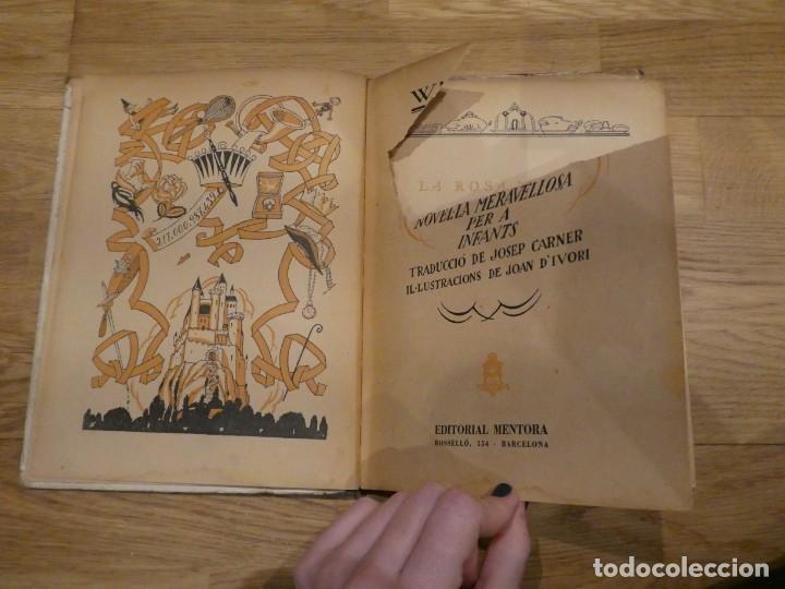 Libros antiguos: LA ROSA I LANELL, W. M. THACKERAY/JOSEP CARNER - alrededor de 1931 - Foto 3 - 198336766