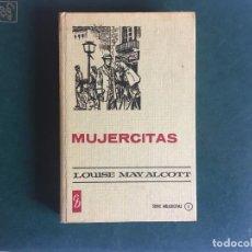 Libros antiguos: MUJERCITAS DE LOUISE MAY ALCOTT,COLECCION HISTORIAS,AÑO 1959 EDITORIAL BRUGUERA. Lote 198390997