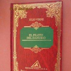 Livres anciens: EL PILOTO DEL DANUBIO , JULIO VERNE , EDICIONES RUEDA 1994. Lote 199072375