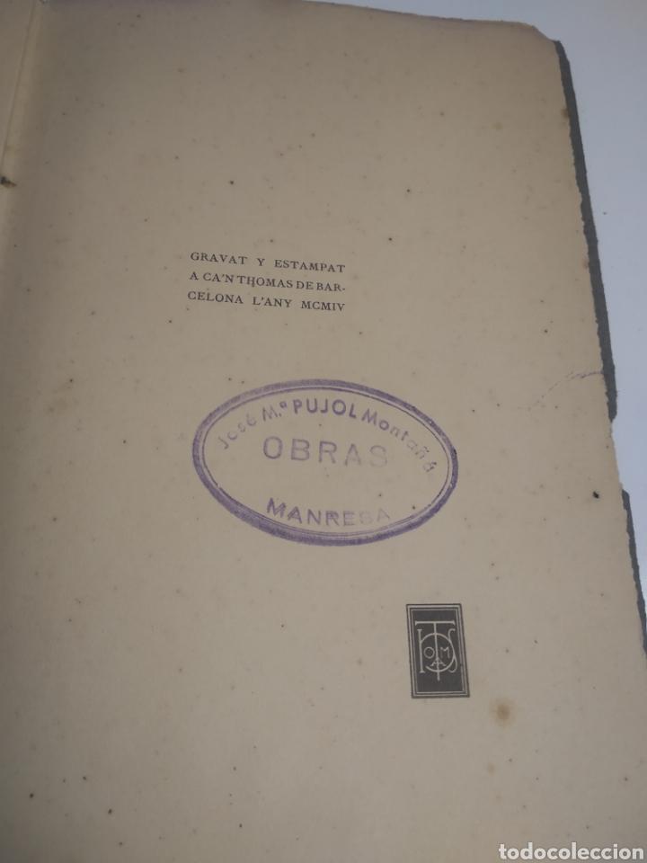 Libros antiguos: Costumbres barcelonistas 1860/1975 escrita en catalán 1904 - Foto 5 - 199266195