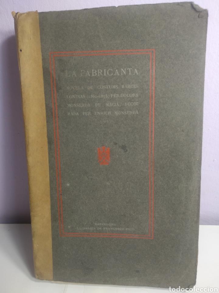 Libros antiguos: Costumbres barcelonistas 1860/1975 escrita en catalán 1904 - Foto 8 - 199266195