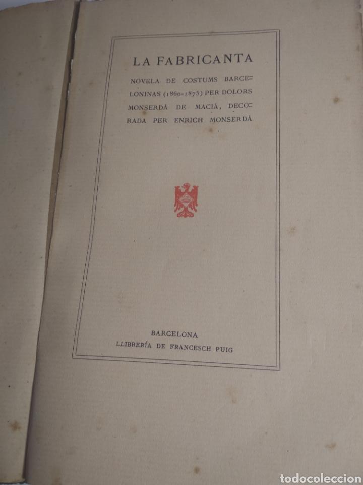 COSTUMBRES BARCELONISTAS 1860/1975 ESCRITA EN CATALÁN 1904 (Libros Antiguos, Raros y Curiosos - Literatura Infantil y Juvenil - Novela)