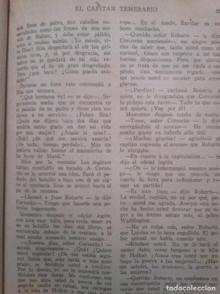 Libros antiguos: EL CAPITAN TEMERARIO. Editó Baguña Hermanos. SL A.Assolant. Posiblemente 1935 - Foto 4 - 199332312