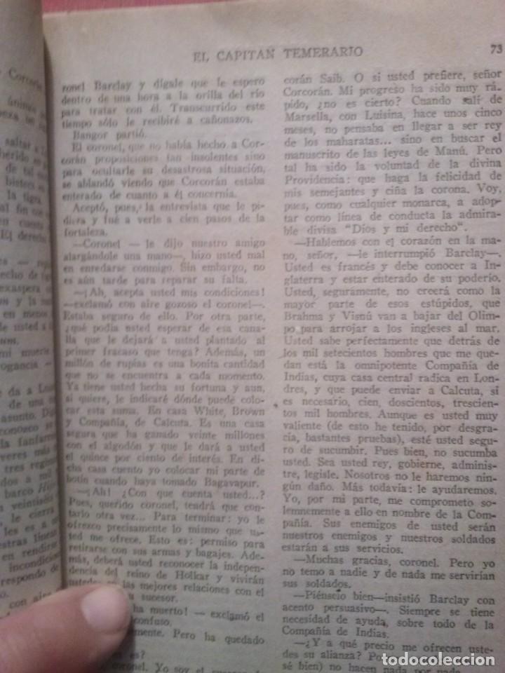 Libros antiguos: EL CAPITAN TEMERARIO. Editó Baguña Hermanos. SL A.Assolant. Posiblemente 1935 - Foto 5 - 199332312